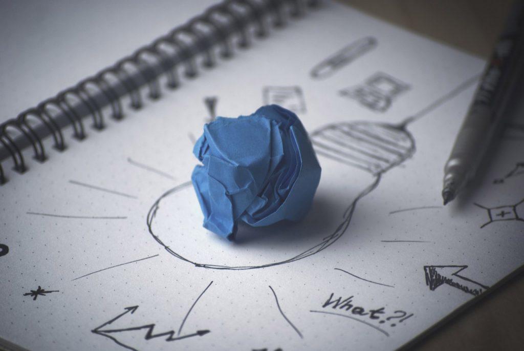 schematizzare le idee in cerca dell'innovazione