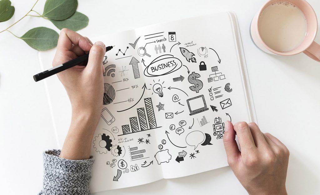 analizzare il roi per la gestione aziendale con uno schema con disegni e grafici